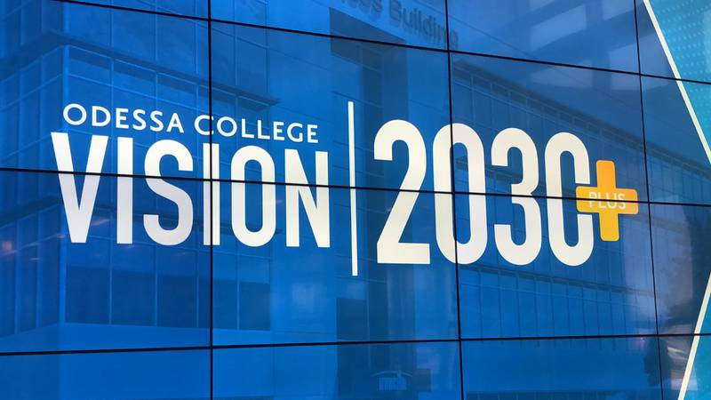 Odessa College announced its Visition 2030+ plan on Thursday.