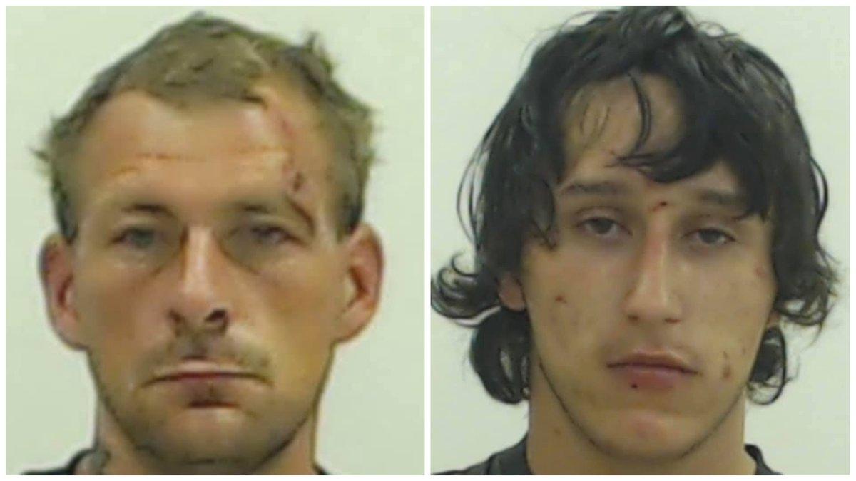 Brandon Robinson, 33, and Timothy Wilson, 22. (Photos: Howard County Sheriff's Office)