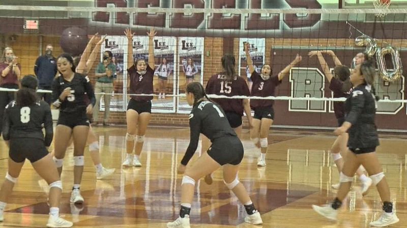 Lee volleyball sweeps rival Permian