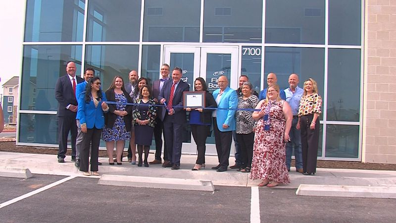 The company held a ribbon cutting ceremony and showed off the new facility.