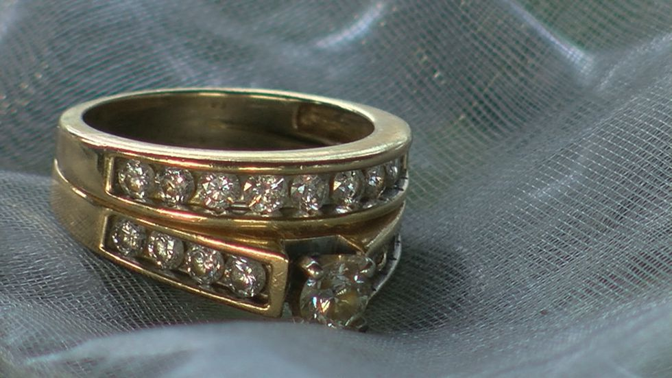Here is the wedding ring that Kenneth Walker had asked his mother for so he could give it to Breonna Taylor.