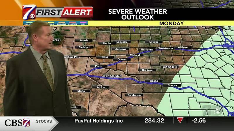 West Texas Weather Forecast 9/13
