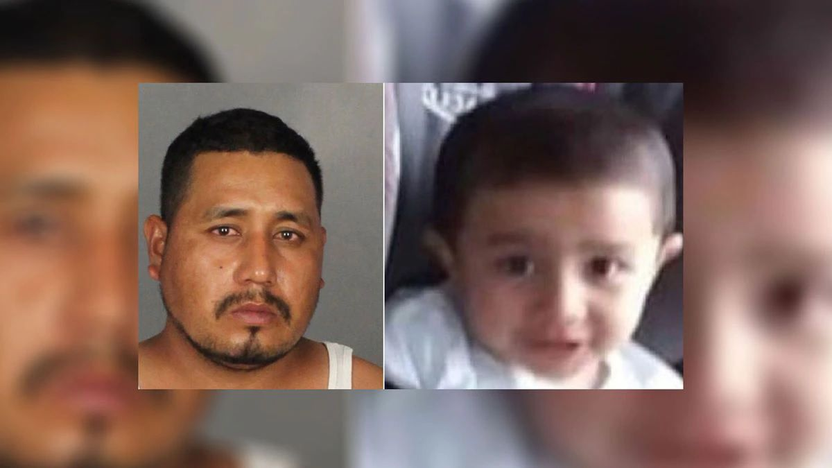 Lorenzo Gonzales (left), is charged in connection with the death of his son, Frankie Gonzales, 2, whose body was found in a church dumpster.