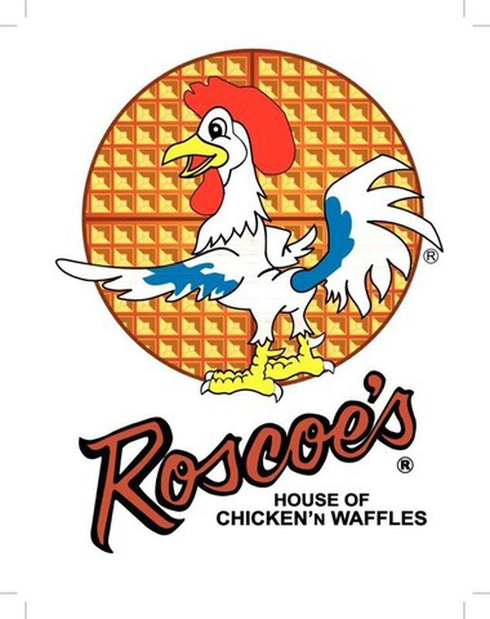 Roscoe's House of Chicken n' Waffle Main Logo - High-Res