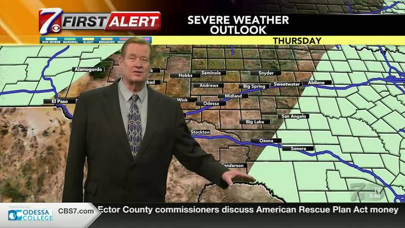 West Texas Weather Forecast 8/26