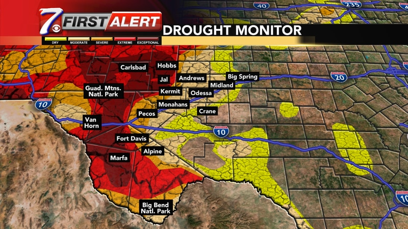 After the recent rainfall, the drought situation in the Permian Basin is looking much better,...