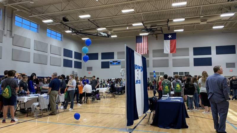 Reality Check Day at Brooks Middle School in Greenwood