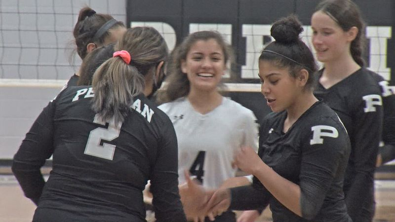 Permian Lady Panthers volleyball