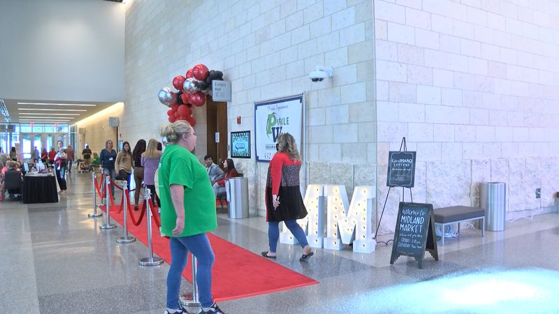 The Midland Market was held this weekend at the Bush Convention Center.