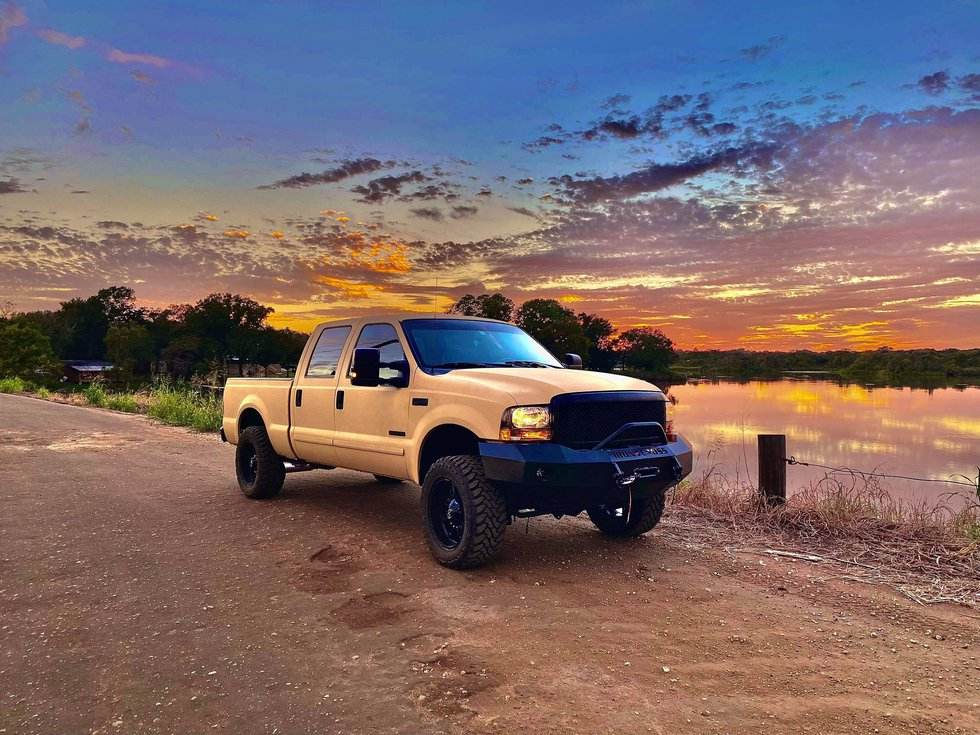 Ethan Walker's newly-revamped Ford F-250