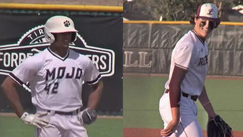 Permian's Teo Banks and Lee's Chase Shores