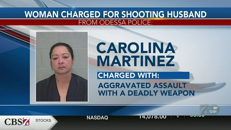 Odessa woman accused of shooting husband