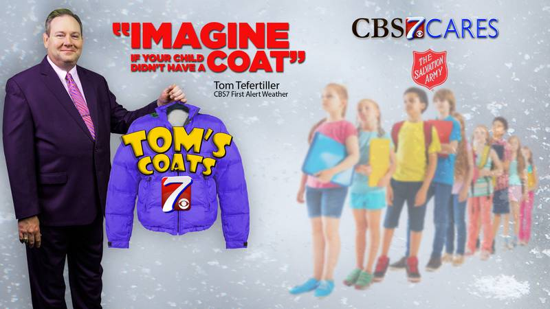 CBS7 First Alert is teaming up with the Salvation Army to keep kids warm this winter.
