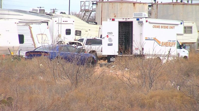 An elderly man died in an RV fire in West Odessa on Tuesday morning.