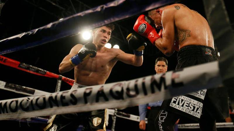 West Texas boxer, Abel Mendoza, is defending his perfect record on Saturday.