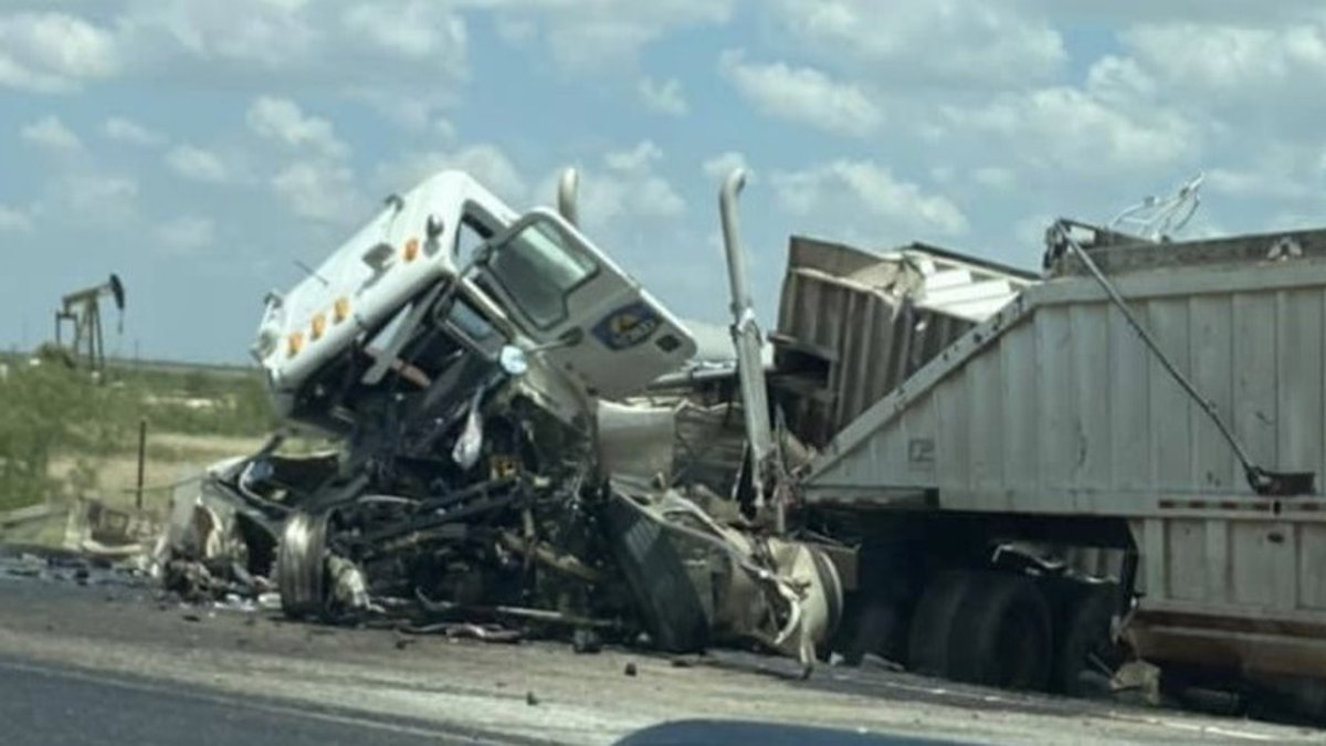 Eyewitnesses say that two 18-wheelers crashed head-on. Exact details on the crash have not been...