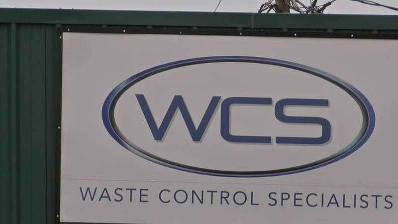Waste Control Specialists in Andrews, Texas.