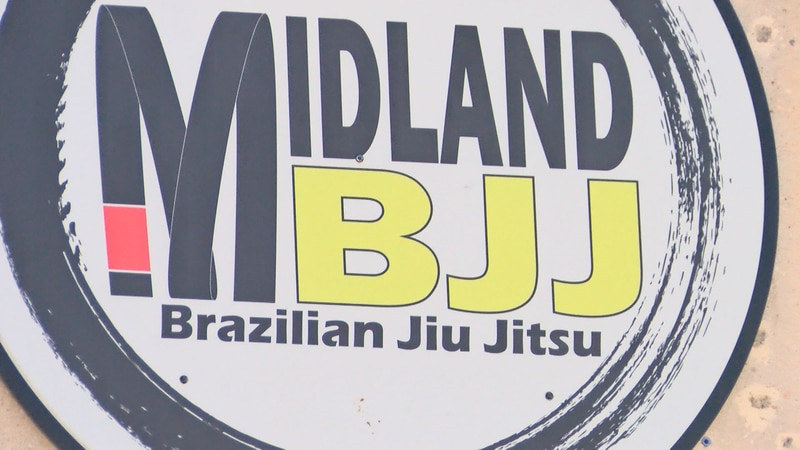 At the Midland Brazilian Jiu-Jitsu gym Saturday, King Mo held a private session for kids and...