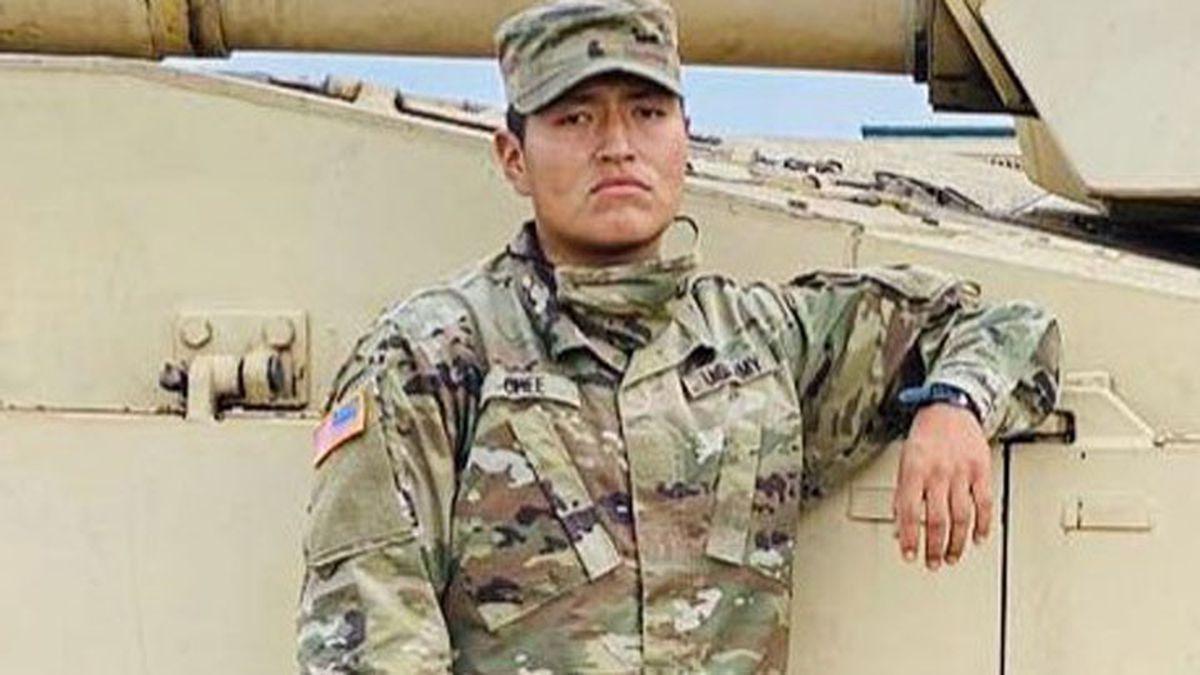 Pvt. Corlton L. Chee, 25, of Pinehill, N.M.