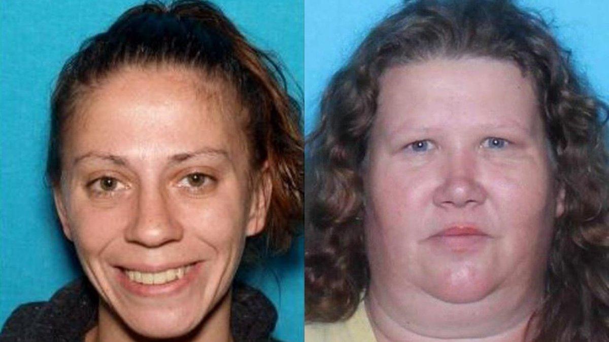 Kayla Mitchell, 30, and Tammy Johnson, 50.