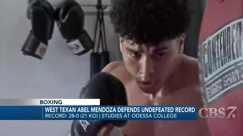 West Texas boxer Abel Mendoza