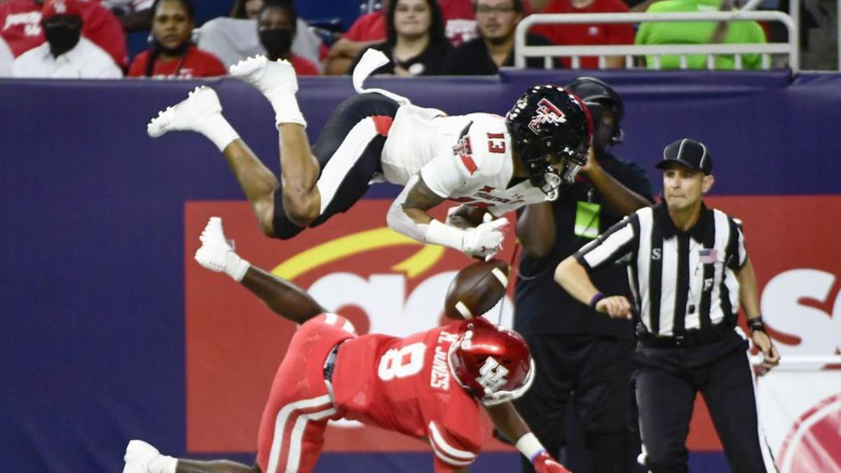Texas Tech went up, over, and around the Houston Cougars on Saturday night.