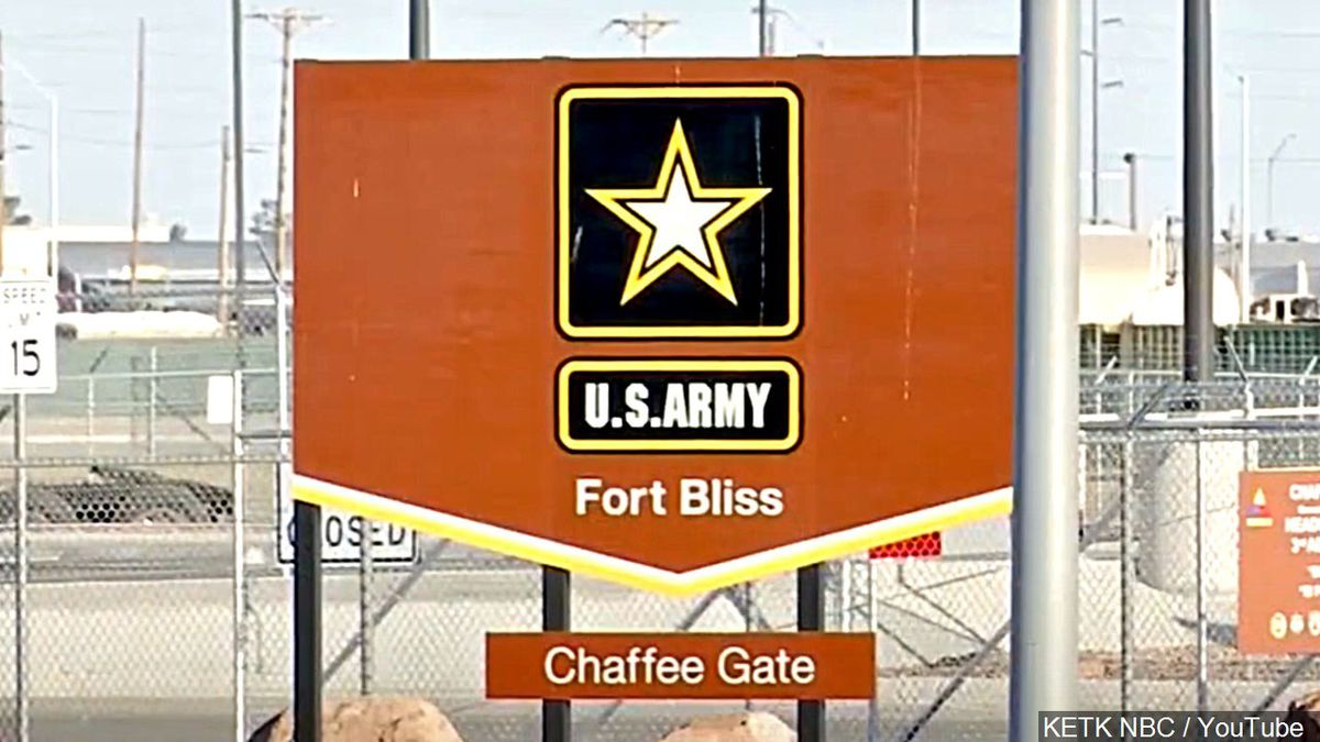 Fort Bliss - U.S. Army post in El Paso, Texas.