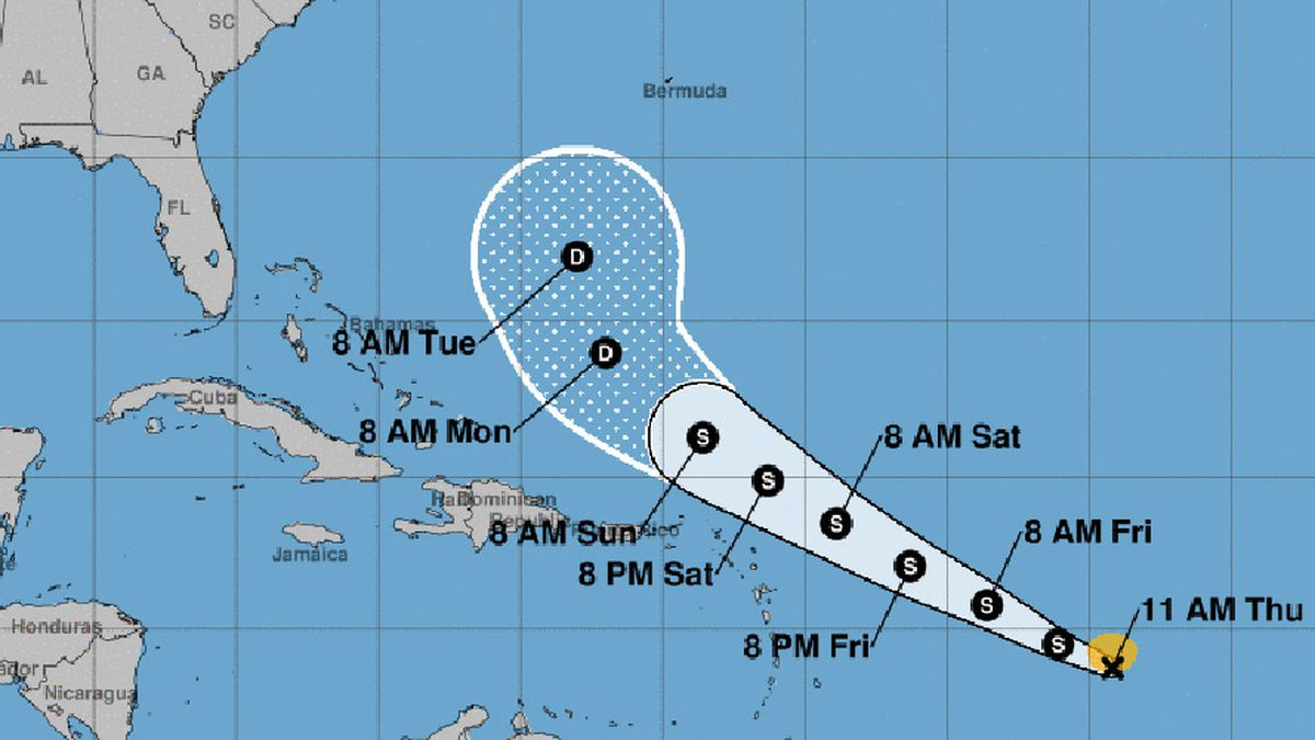 No worries about battening down the hatches just yet. No watches or warnings have been issued with Tropical Storm Josephine.