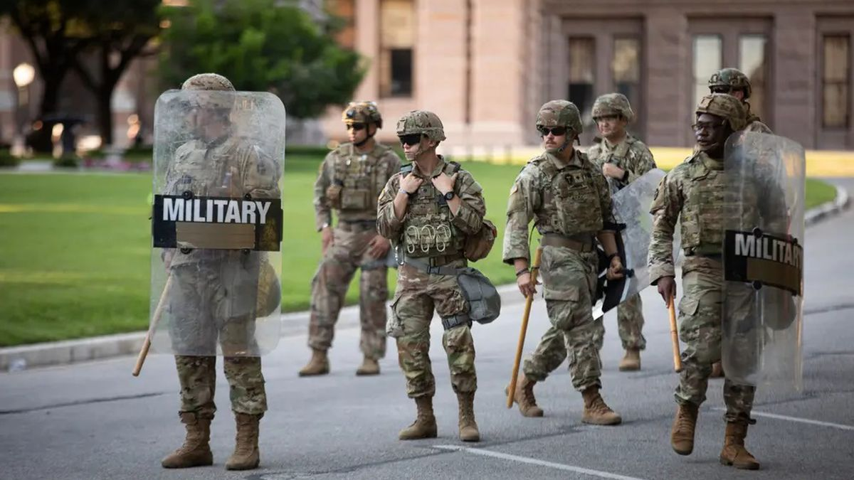 Ahead of the election, Texas National Guard troops will be deployed to cities.
