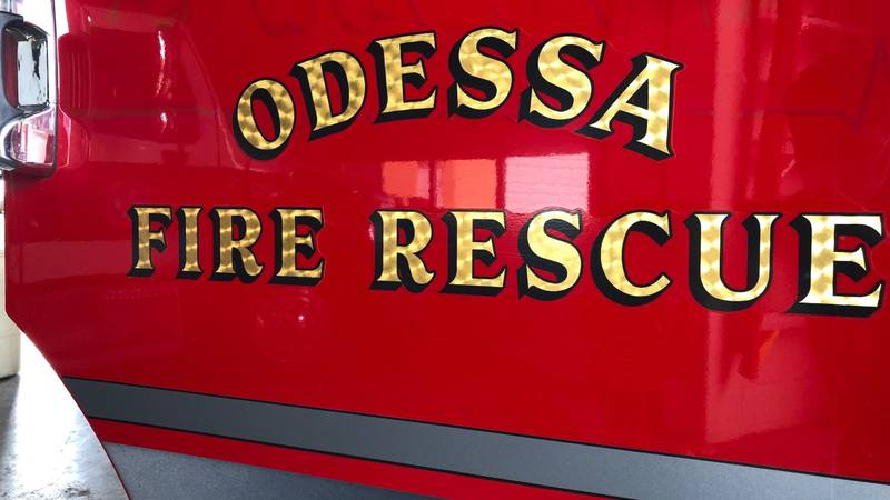 Odessa Fire Rescue Flag Presentation