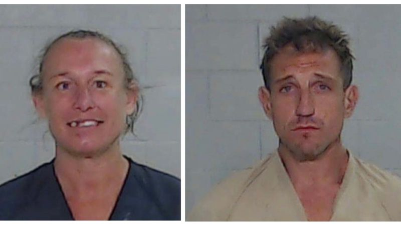 Elizabeth Ann Mill and Henry Stewart Mills have been charged with Arson.