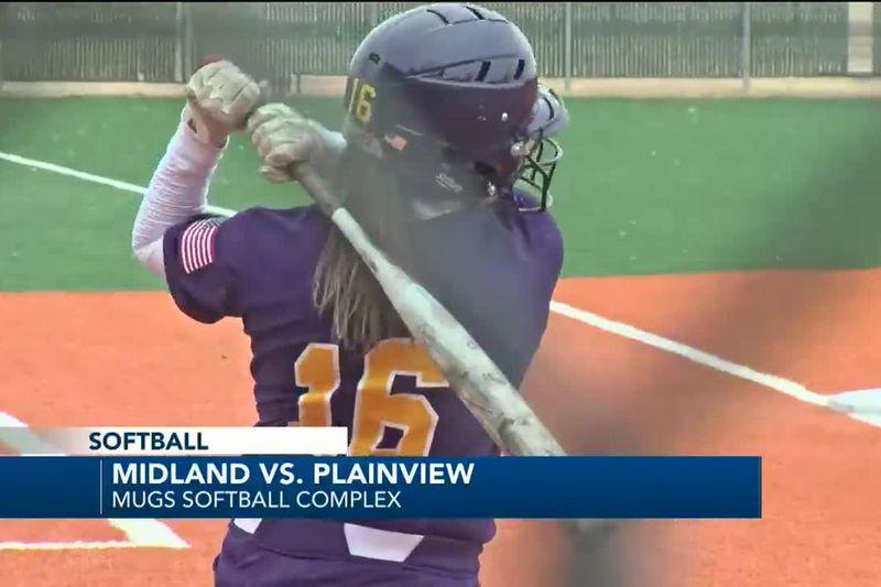 Midland High softball