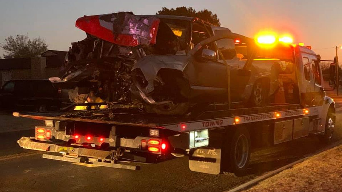 One person was killed and another was seriously injured when a chase ended with a crash Friday...