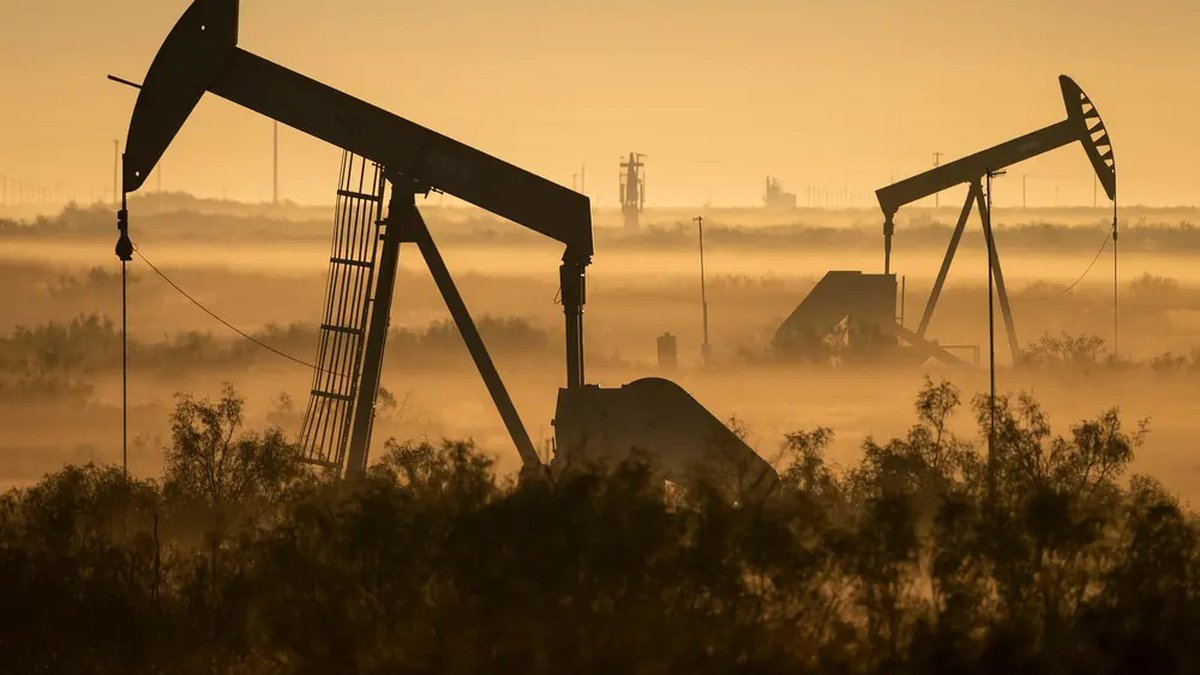 Oil pumpjacks in Andrews County. A bill that received preliminary approval from the Texas House...