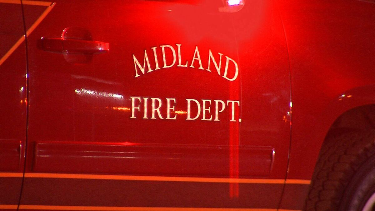Midland Fire Truck. (CBS 7 File Photo)