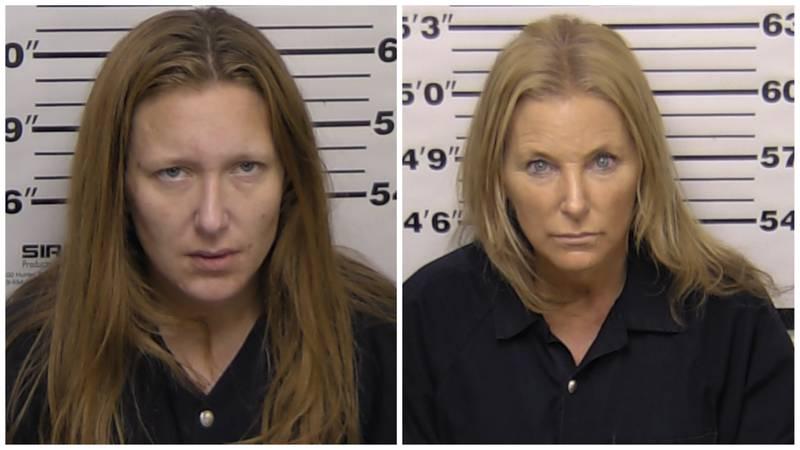 Alexis Smith, 35, and Kellie Smith, 55.
